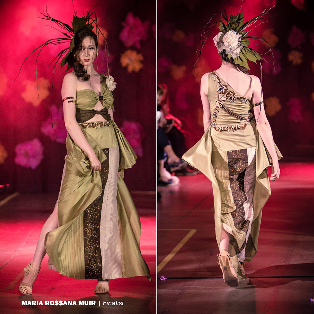 The Design Challenge was a showcase for local fashion design students to create upcycled looks while competing for prizes.