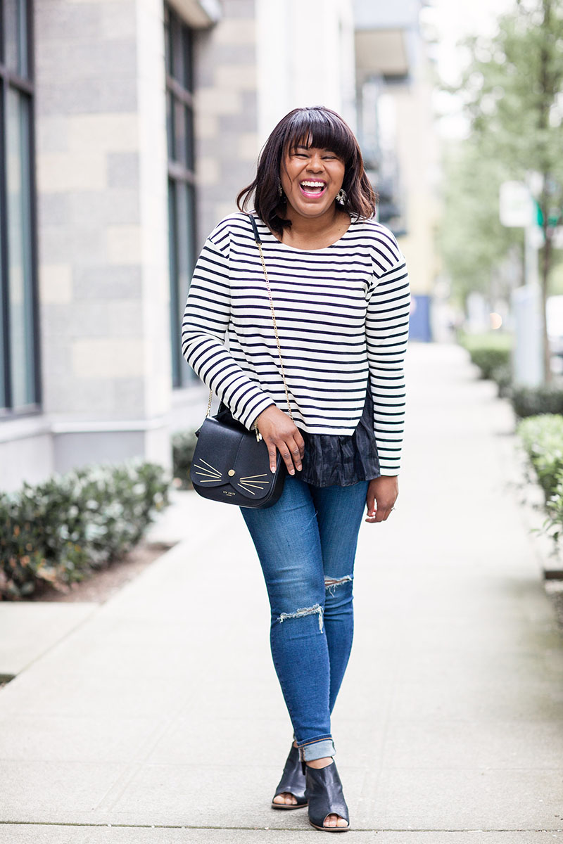 When you're petite, it can be hard to find the right clothes for your frame. Even if you're not short, that doesn't mean that you're not petite. You can be tall, curvy, or even plus-sized and still be considered petite in certain areas.